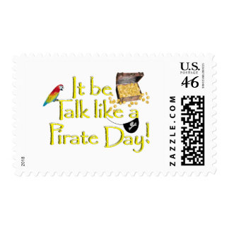 It Be Talk Like A Pirate Day! Stamps