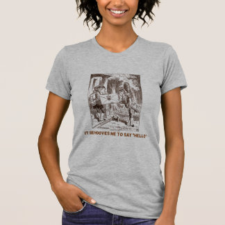 It Behooves Me To Say Hello Frogman Fishman Humor T-Shirt