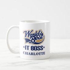 IT Boss Personalized Mug Gift