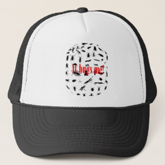 it bugs me isso me irrita trucker hat