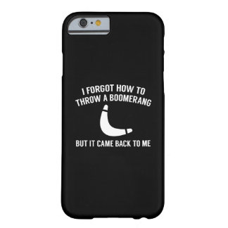 It Came Back To Me Barely There iPhone 6 Case