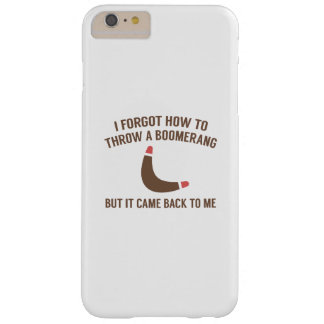 It Came Back To Me Barely There iPhone 6 Plus Case