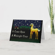 It Came Upon A Midnight Clear Holiday Card