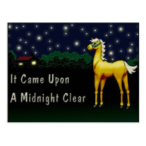It Came Upon A Midnight Clear Postcard