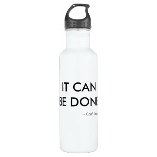 It Can Be Done Water Bottle