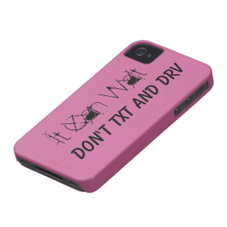 It Can Wait Don't Text And Drive iPhone4 Case Mate iPhone 4 Covers