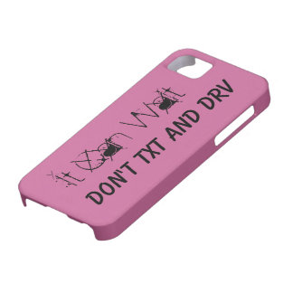 It Can Wait Don't Text And Drive iPhone 5 Cover