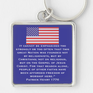 It cannot be emphasized too strongly or too often keychain