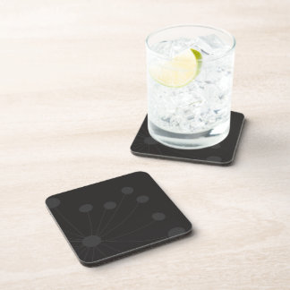 It carries Glasses Tooth of Black and Gray Leon Drink Coaster