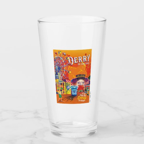 It Chapter 2   Derry is Calling Poster Glass