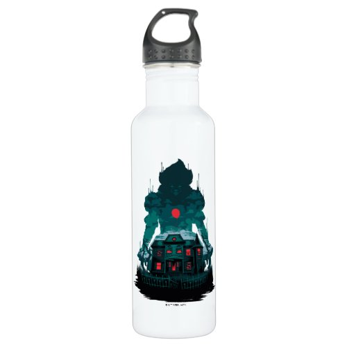 It Chapter 2   Pennywise and House Stainless Steel Water Bottle