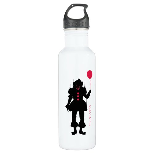 It Chapter 2   Pennywise Silhouette Stainless Steel Water Bottle