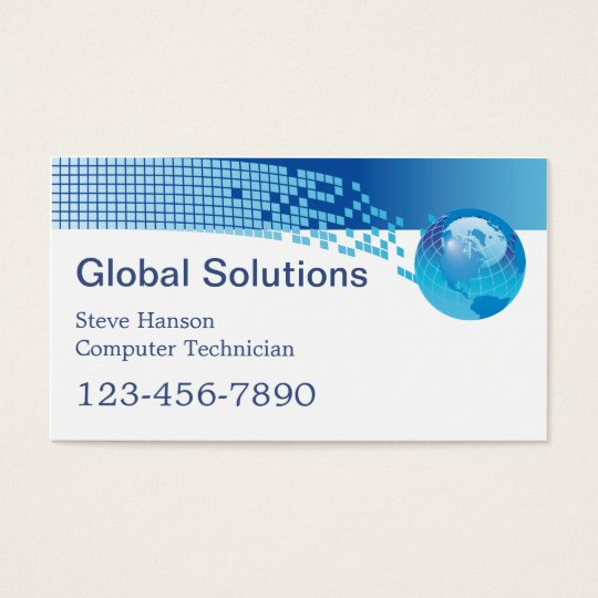 It computer programmer technician business card zazzle it computer programmer technician business card colourmoves
