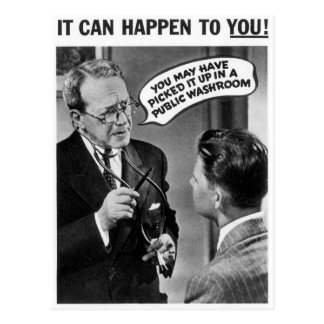 It could happen to you! postcard