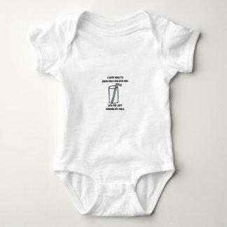IT Crowd Drink Milk Baby Bodysuit
