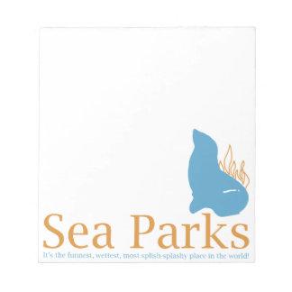 IT Crowd Sea Parks Scratch Pads
