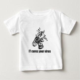 IT Cures Your Virus Infant T-shirt