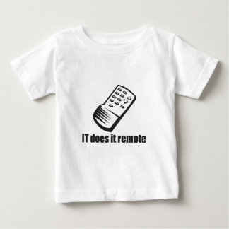 IT Does it Remote Shirt