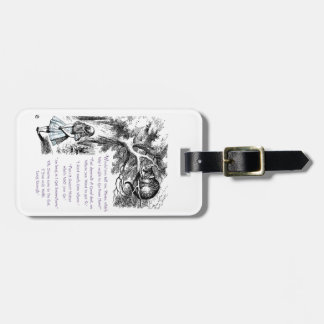 It Doesn't Matter Which Way You Go Luggage Tag