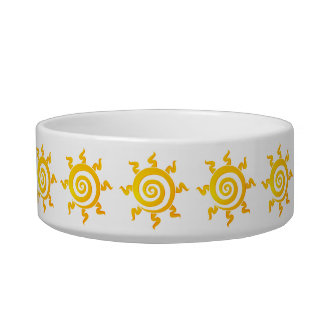 It eats suns bowl