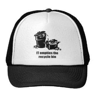 IT Empties The Recycle Bin Trucker Hat