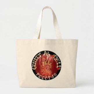 It Evil Fight for justice - GUILTYASHELLrecords Bag