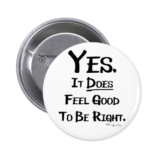 It Feels Good 2 Inch Round Button