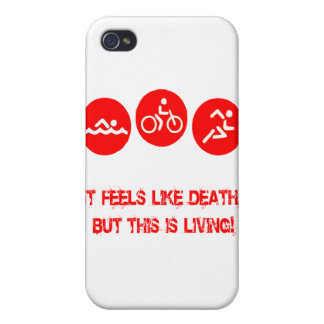 It feels like death - Triathlon iPhone 4/4S Case
