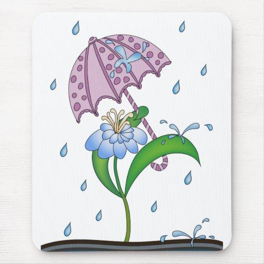 It Feels Like Raindrops Mouse Pad