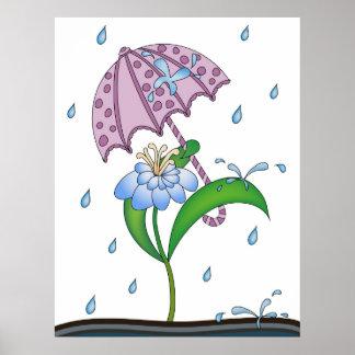 It Feels Like Raindrops Poster