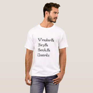 It finishes Online Vendor Buy Bank Guards T-Shirt