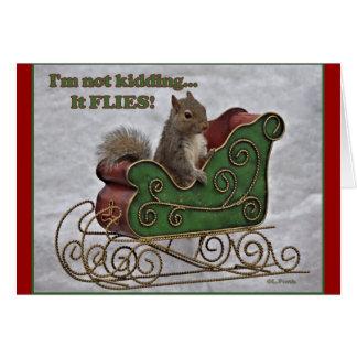 It FLIES! Greeting Card