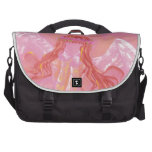 It foretells in rose bag for laptop