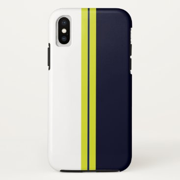 it founds for iphone with yellow blue target iPhone x case