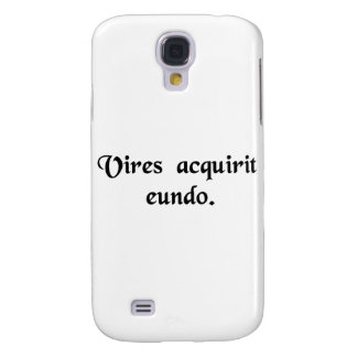 It gains strength as it goes. samsung s4 case