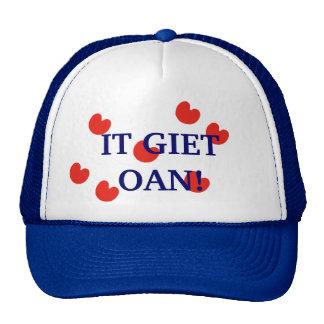 It Giet Oan! Fryslan Friesland Cap Trucker Hat