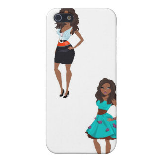 IT Girl Cover For iPhone SE/5/5s