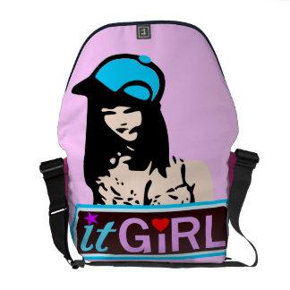 ♔It Girl Fabulous Rickshaw Messenger Bag♔ Courier Bag