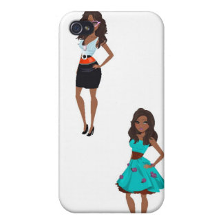 IT Girl iPhone 4/4S Cover