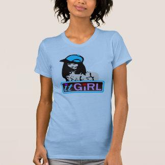 ♔♥°•It Girl Ladies Sheer Fitted Twofer T-Shirt•°♥♔ Tshirt