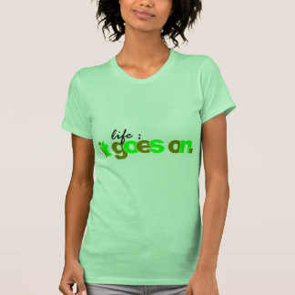 it goes on T-Shirt