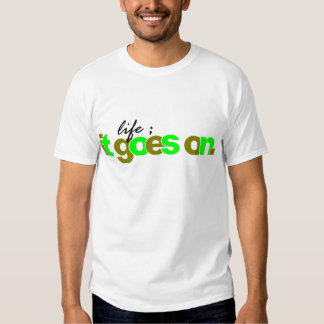 it goes on t shirt