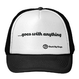 It goes with anything! trucker hat