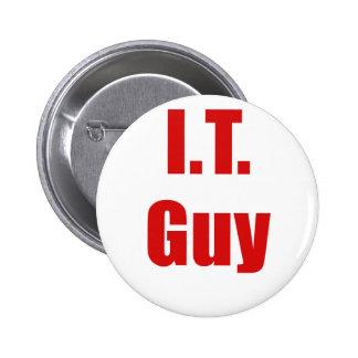 IT Guy Pinback Button