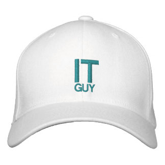 IT GUY - Customizable Cap by eZaZZleMan.com