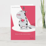 IT HAD TO BE MOO Valentines by Boynton Holiday Card