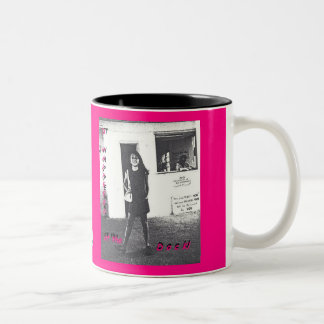 IT HAPPENED AT THE DOCK, THE BOOK_MUG Two-Tone COFFEE MUG
