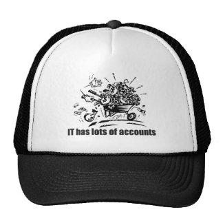 IT Has Lots of Accounts Trucker Hat