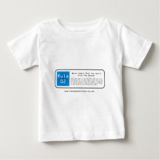 IT Helpdesk Rules Baby T-Shirt