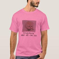 It Hurts Having FIBRO - ME - OW  - GIA T-Shirt